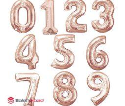 فروش عمده بادکنک فویلی عدد انگلیسی