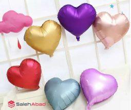 فروش عمده بادکنک فویلی قلبی