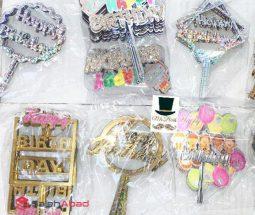 فروش عمده تاپر کیک HAPPY BIRTHDAY