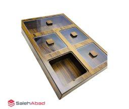 فروش عمده باکس پذیرایی ۵ خانه چوبی