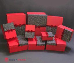 فروش عمده جعبه کادو مربعی ۱۰ سایز