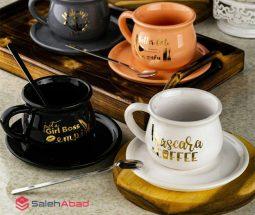 فروش عمده ماگ قهوه خوری بشقاب دار