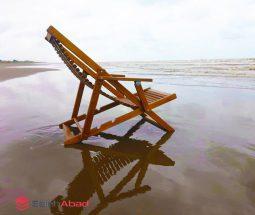 فروش عمده صندلی راحتی ساحلی چوبی