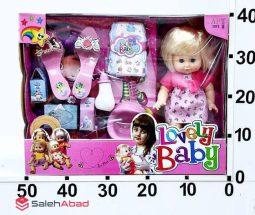فروش عمده عروسک بیبی پوشک دار