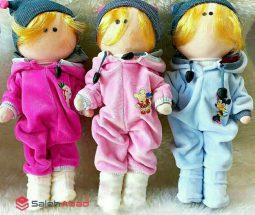 فروش عمده عروسک روسی طرح نوزاد