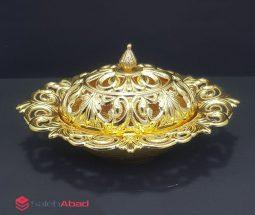 فروش عمده قندان فلزی آسیا مدل توری