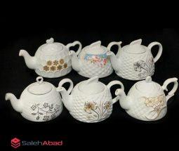 فروش عمده قوری چای چینی گل برجسته
