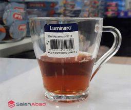 فروش عمده لیوان شلغمی لومینارک