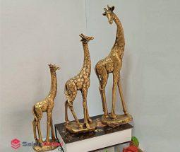فروش عمده مجسمه تزئینی طرح زرافه