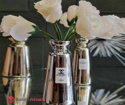 فروش عمده گلدان دکوری طرح آینه ای CHANEL